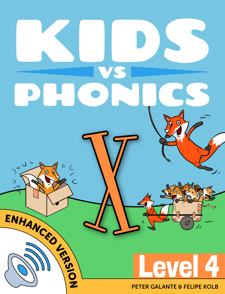 Learn The Letter X Phonics Book Kidsvsphonics